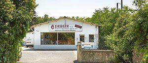 Magasin Debize Tournon sur Rhône vue extérieure
